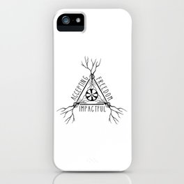 ACCEPTING - FREEDOM - IMPACTFUL iPhone Case