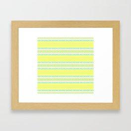 Lemon Lime Framed Art Print