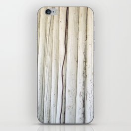 Wire on Wood iPhone Skin
