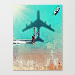 The Big Dive by GEN Z Canvas Print