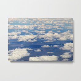 SKY FROM ABOVE Metal Print