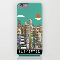 Vancouver skyline iPhone 6s Slim Case