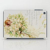 wedding iPad Cases featuring Wedding Bells by Lucia