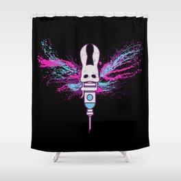 Little Moth Shower Curtain