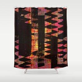 Night intermeZZo Shower Curtain
