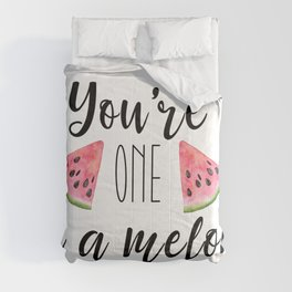 One in a Melon Comforters