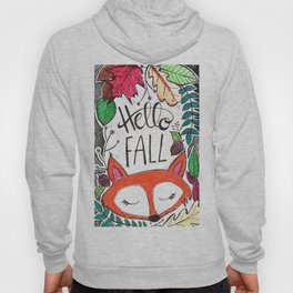 Hello Fall Fox Hoody