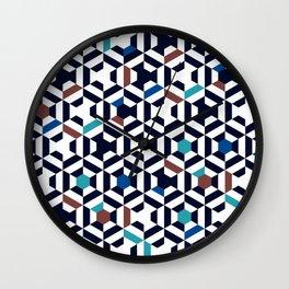 Hexatiles OCN Wall Clock
