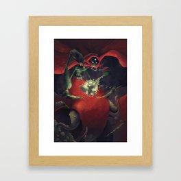The Dreamteller of Nightmares Framed Art Print