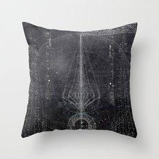 Vertical Scheme Throw Pillow