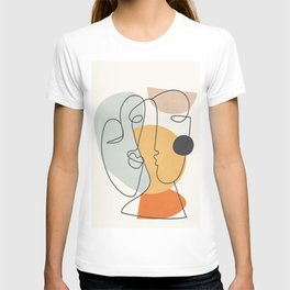 Abstract Faces 30 T-shirt