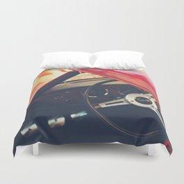 Triumph spitfire, english sports car fine art photography, classy man cave print Duvet Cover