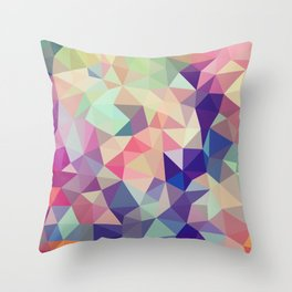 Jelly Bean Tris Throw Pillow