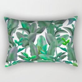 tropical leafs pattern iPhone 4 4s 5 5c 6 7, pillow case, mugs and tshirt Rectangular Pillow
