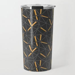 Yellow Prisma Travel Mug