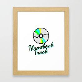 Throwback Track Framed Art Print