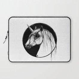 Black Unicorn - Through the Black Laptop Sleeve