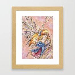 Quartz Wings  Framed Art Print