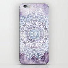 DEEP PURPLE MANDALA iPhone & iPod Skin