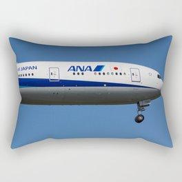 All Nippon Airways Boeing 777 Rectangular Pillow