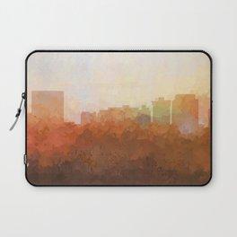 Newport News, Virginia Skyline- In the Clouds Laptop Sleeve