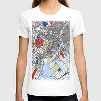 tokyo T-shirts featuring Tokyo by Mondrian Maps