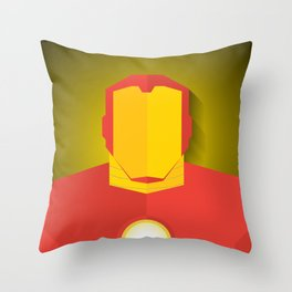 Homem de Ferro Throw Pillow