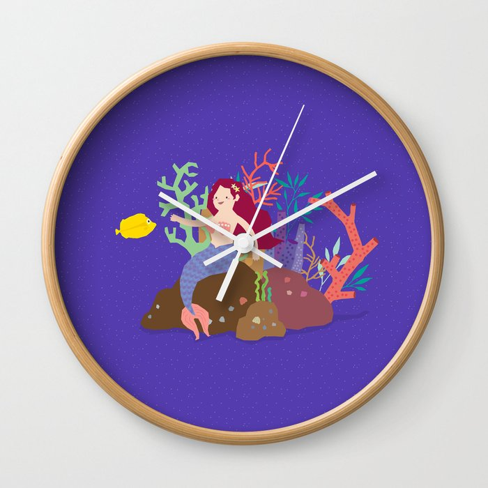 Dream island Wall Clock