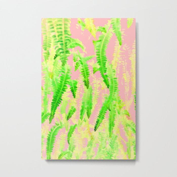 Blush Green Glow #society6 #decor #buyart Metal Print