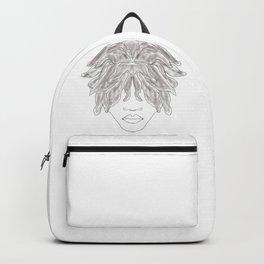 Free form locs Backpack