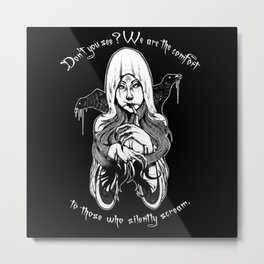 Don't you see? Metal Print