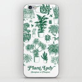Plant Lady (dominae et plantae) iPhone Skin