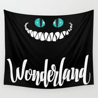 wonderland Wall Tapestries featuring Wonderland by Insait
