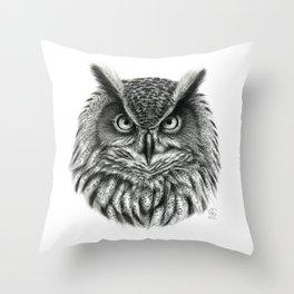 Owl G2012-046bis Throw Pillow