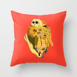 ONLY AS COOL AS YOUR SUNGLASSES Throw Pillow