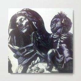 The  Virgin Zombie Metal Print
