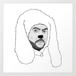 Wilfred Art Print