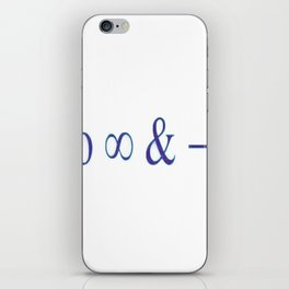 To infinity and beyond iPhone Skin