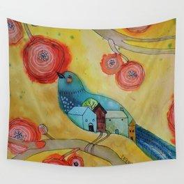 souvenir d'une nuit paisible Wall Tapestry