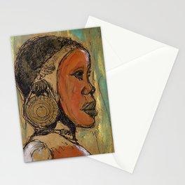 Suri Girl  Stationery Cards