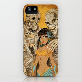 Mistress of the Mummies iPhone Case