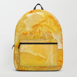 Yellow onyx marble Backpack