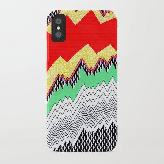 Isometric Harlequin #1 iPhone Case