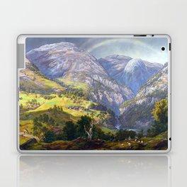 Johan Christian Claussen Dahl View from Stalheim Laptop & iPad Skin