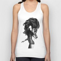 acid Tank Tops featuring Bear #3 by Jenny Liz Rome