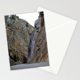 Gateway to the Uncompahgre Gorge - Around this Curve is a Frightening Road Stationery Cards
