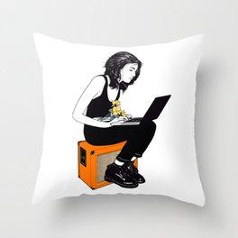 Dream pop Throw Pillow