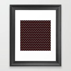 Art Deco pattern Framed Art Print