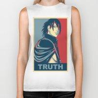 sasuke Biker Tanks featuring Sasuke - Truth by KingSora