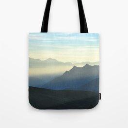 Morning Mist Tote Bag